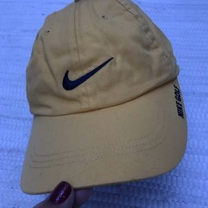 NIKE GOLF YELLOW and BLUE CAP